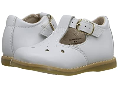 FootMates Harper (Infant/Toddler) (White) Girls Shoes