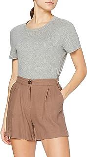 find. Pantalones Cortos de Lino Mujer