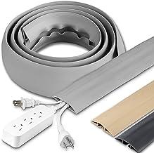 Cordinate, Cinza, capa para cabo de chão de 1,8 m, borracha, perfil baixo, protetor de cabo, 47348