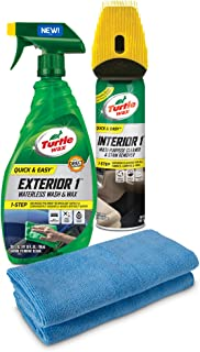 Turtle Wax 50828 Quick & Easy Interior 1 & Exterior 1 Kit, 18. Fluid_Ounces