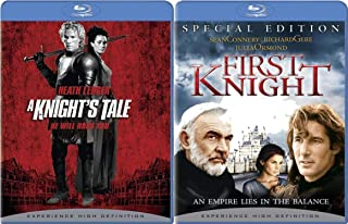 Mythological Knighthood with King Arthur and Canterbury Tales brings you First Knight (Special Edition) and A Knight's Tale on Blu-ray 2-Movie Bundle
