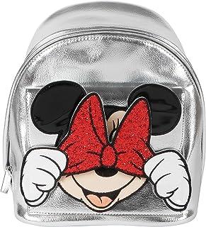 Mini Mochila Plateada Minnie Mouse