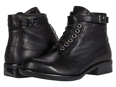 Naot Kona (Black Water Resistant Leather) Women