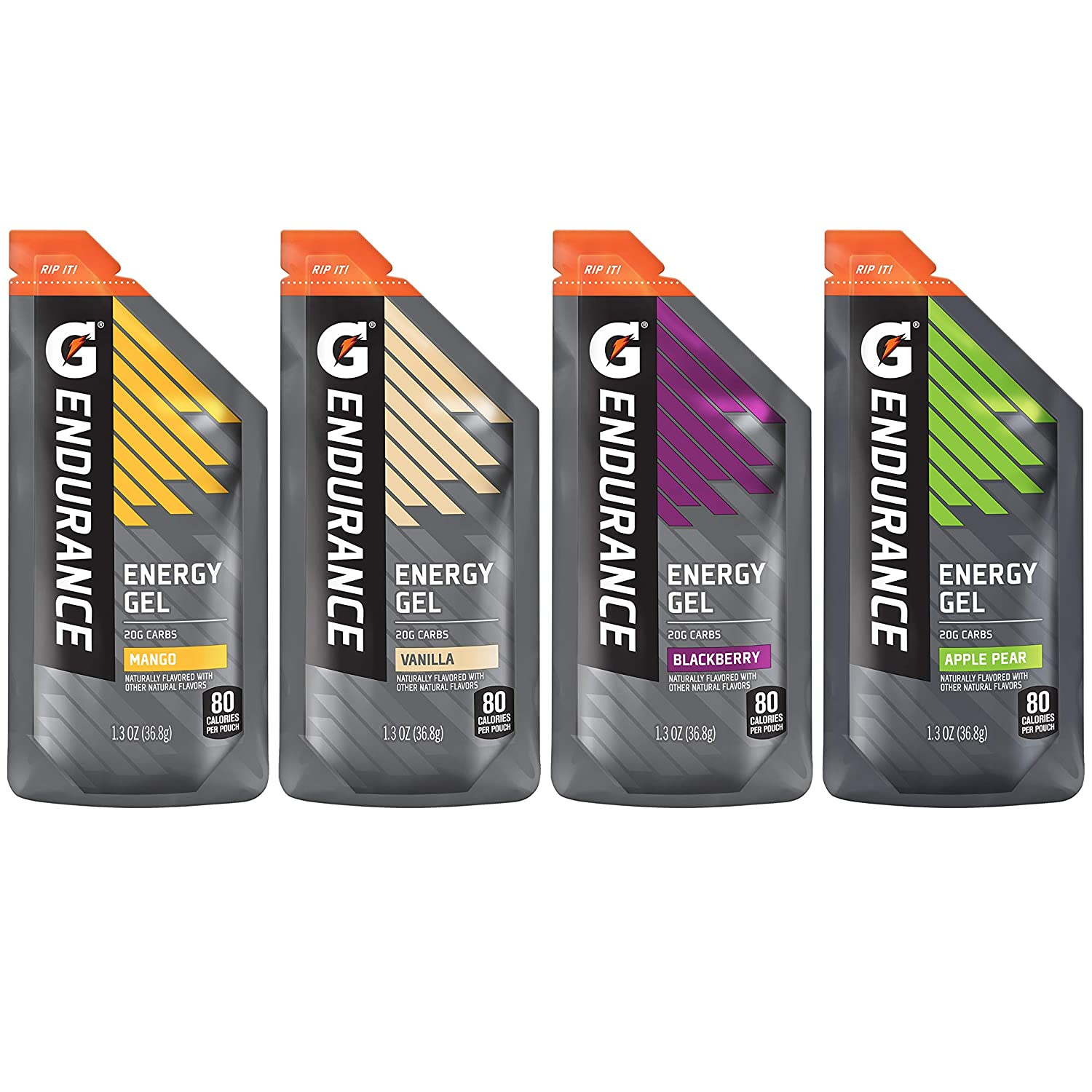 Gatorade Endurance Energy Gel No Pack All items in the store 4 Variety Flavor New Free Shipping Caffeine