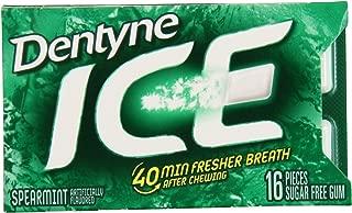 Dentyne Ice Sugar-Free Gum (Spearmint, 16 Piece, Pack of 3)