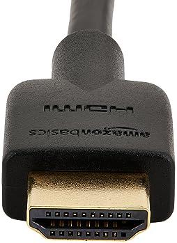 AmazonBasics High-Speed 4K HDMI Cable - 6 Feet