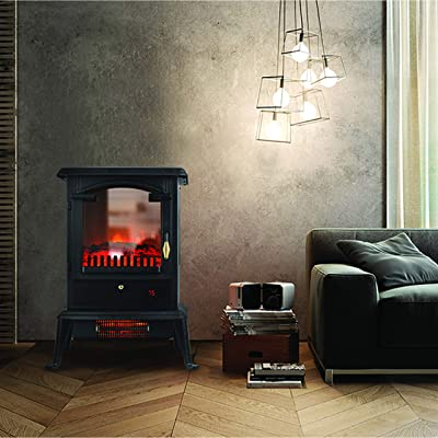 LifeSmart 3 Sided Flame View Infrared Stove Heater, PCHT1109US