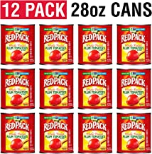 Redpack Whole Peeled Plum Tomatoes in Puree 12-Pack (28oz each)