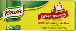 KNORR Bouillion Caldo de Tomate - Tomato With Chicken -- 1 Package of 24 Cubes