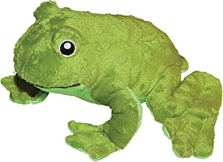 Patchwork Pet Pond Hoppers Frog 14-Inch Squeak Toy for Dogs