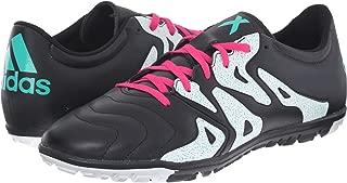 adidas Women's X 15.3 TF Black/Shock Pink/Shock Mint 13 B US B (M)