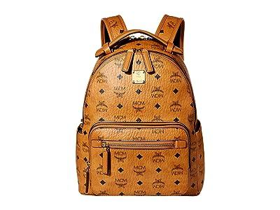 MCM 32 Stark Backpack (Cognac) Backpack Bags