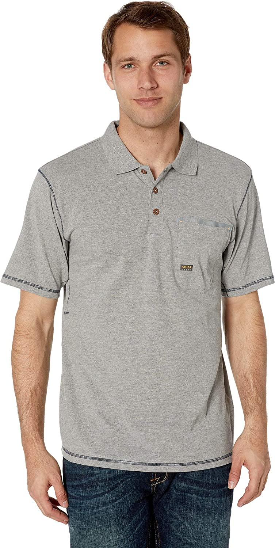 ARIAT Men's Rebar Polo Shirt