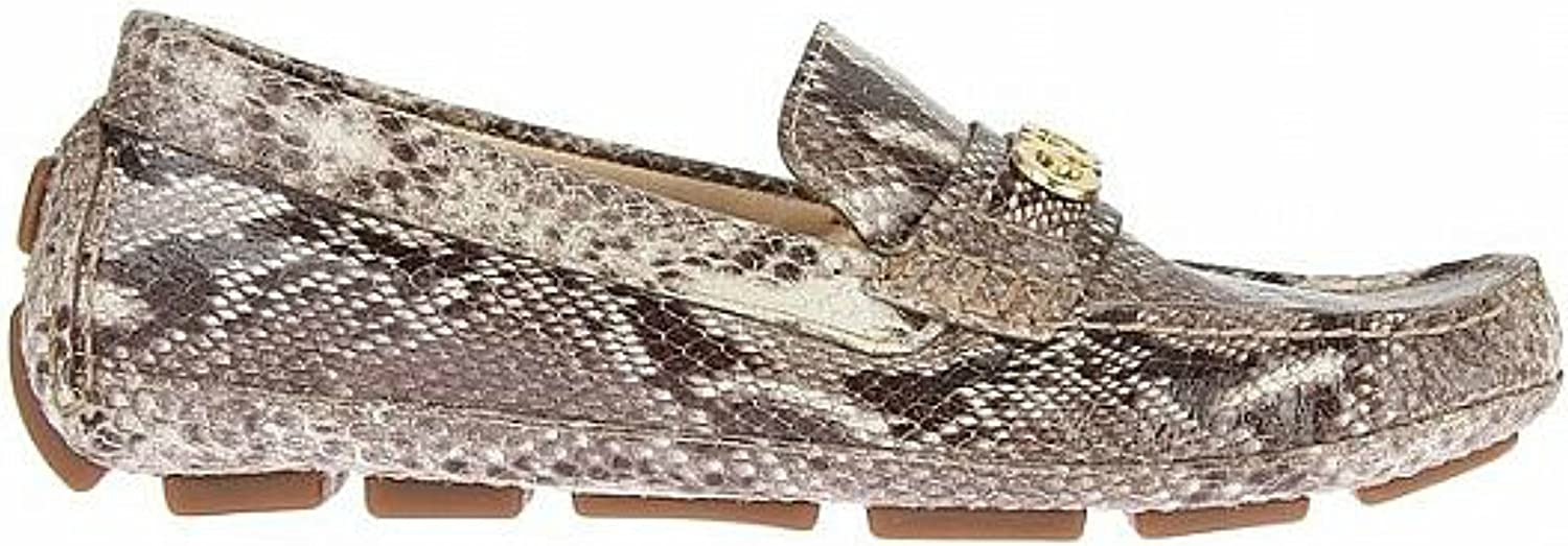 Cole Haan Shelby CH Logo II Snake Print Natural Leather Flats Women shoes Size 6