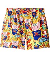 Dolce & Gabbana Kids - Super Pig Swim Trunks (Big Kids)