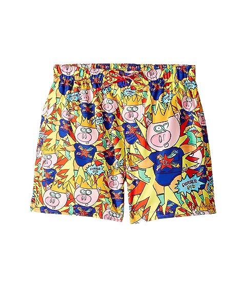 Dolce & Gabbana Kids Super Pig Swim Trunks (Big Kids)