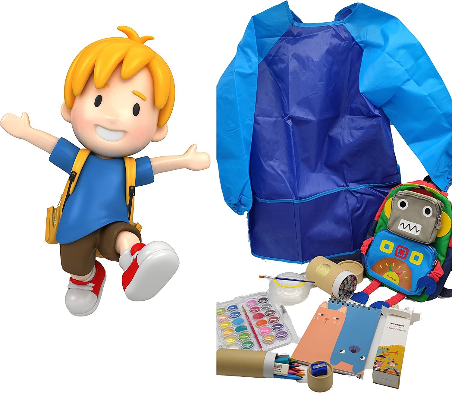 NEWLAND Kid Art Set Travel Cray Backpack131pcs Sale Bargain SALE% OFF Kit with Drawing