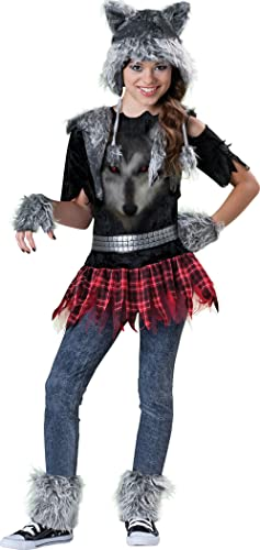 Incharacter Disfraces Girls IC18041-L Wear lobo Traje LARGE