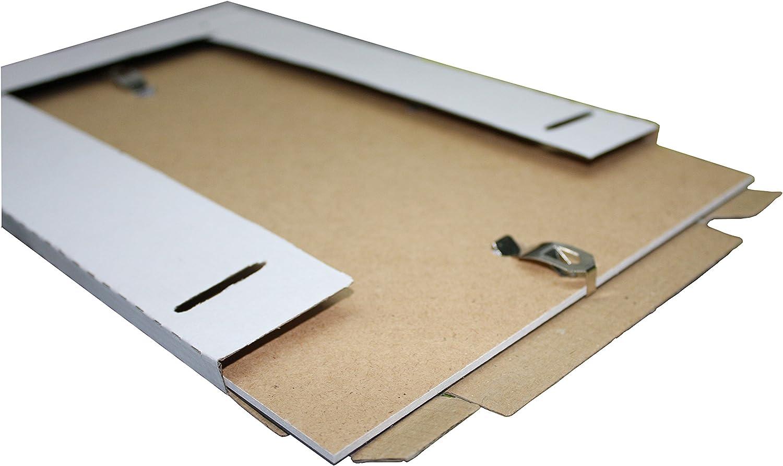 Migieinkauf Rahmenloser Bilderrahmen Bildhalter Bildträger Mit Clip Rahmen Kunstglas Plexi 42 X 59 4 Cm Din A2 Küche Haushalt