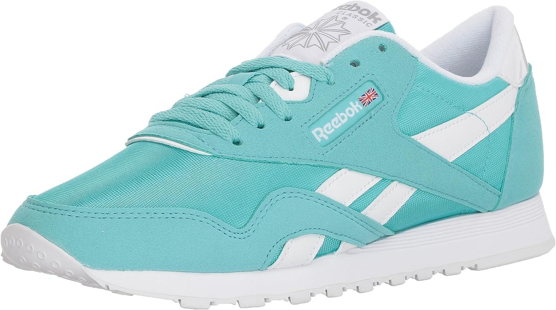 Reebok Womens Cl Nylon Brights Sneaker