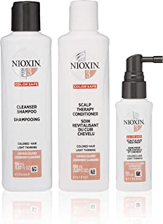Nioxin Hair Care System 3 Kit for Colored Hair with Light Thinning