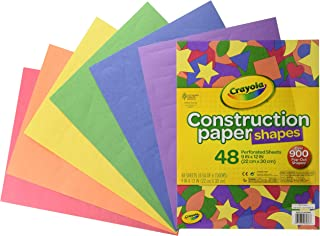 Crayola 48 Micro-Perforated Sheets, Multi-Colour, Cy99-0036