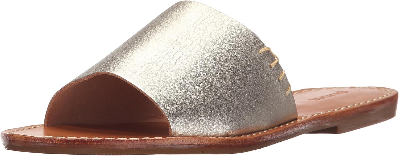Soludos Womens Slide Sandal Flat Sandal