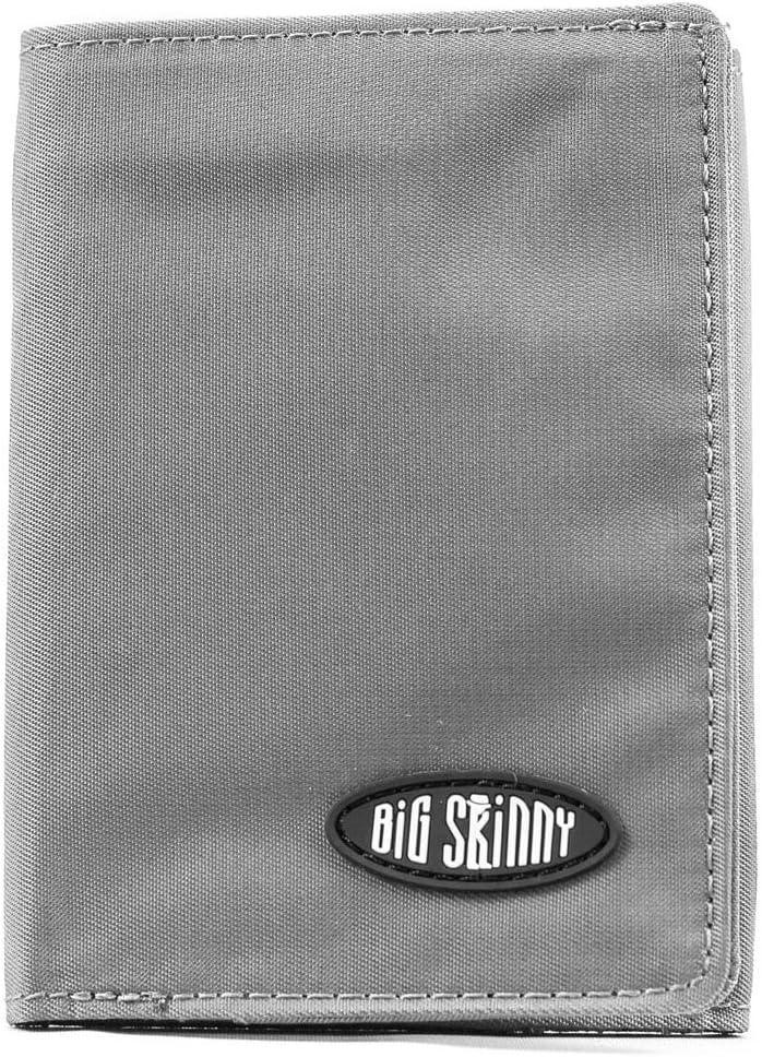 Big Skinny Men's Tri-Fold Slim Wallet, Holds Up to 25 Cards