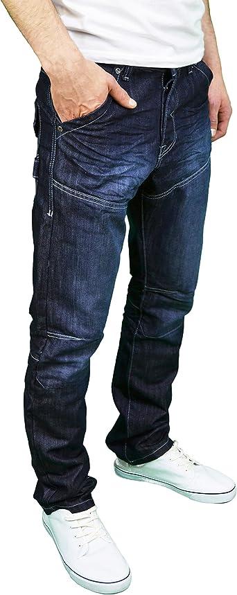 Details about  /Mens Big /& Tall Enzo Fashion Jeans EZ 243 Blue Faded Denim
