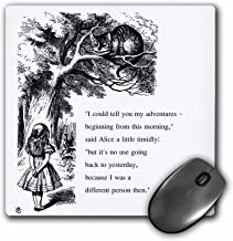 3dRose Its No Use Going Back to Yesterday I was a Different Person Then Mouse Pad (mp_193783_1)