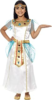 smiffy's Deluxe Cleopatra Girl Costume, Multi-Colour, Medium(7-9Years), 44104M