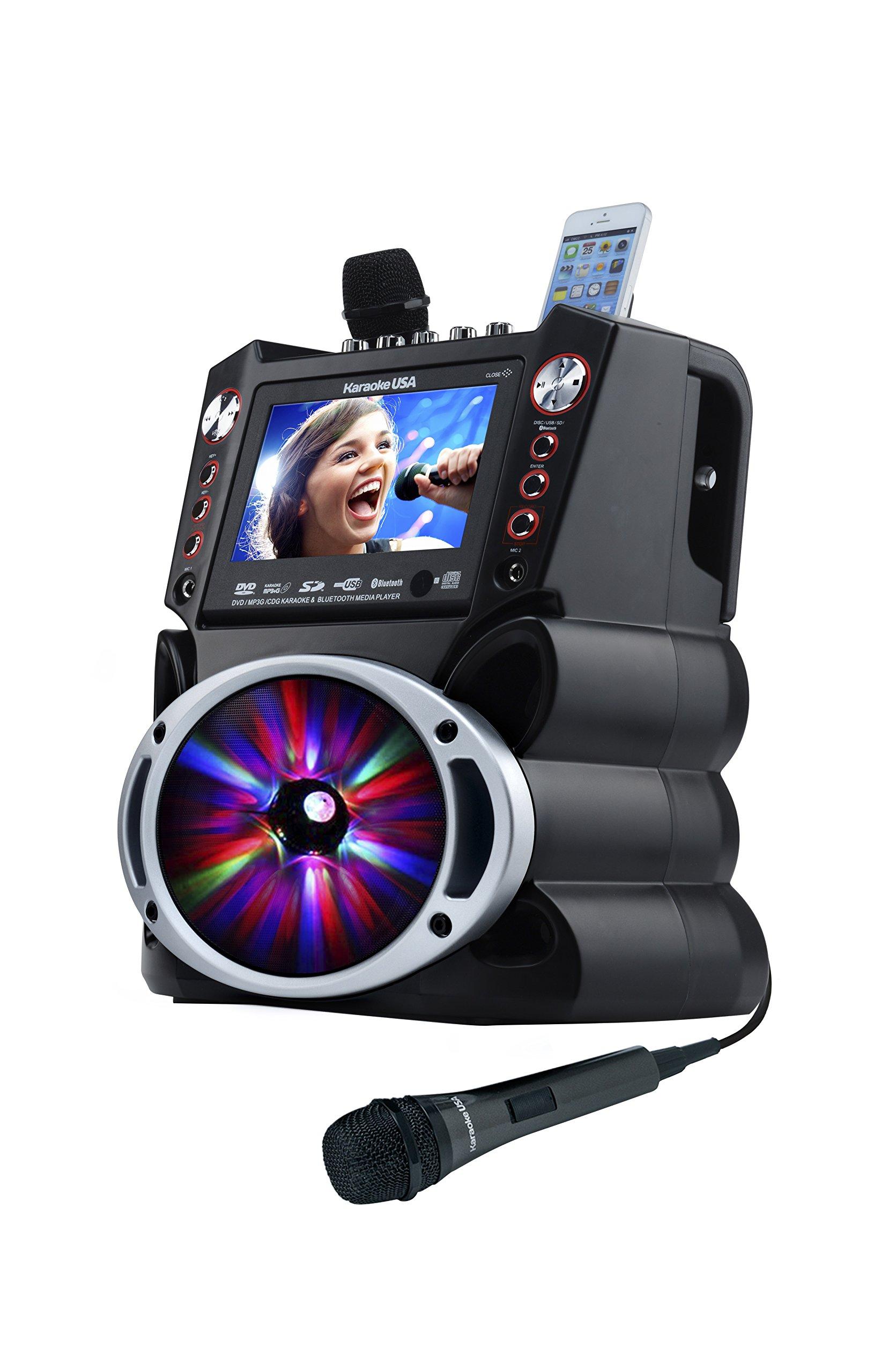 Karaoke USA GF845 Complete Microphones
