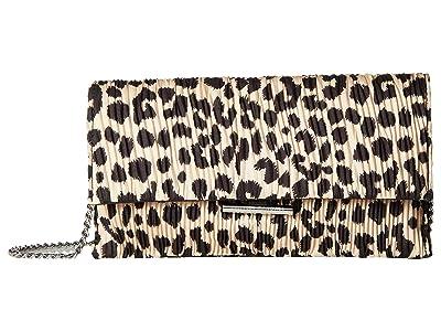 Loeffler Randall Tab Clutch (Leopard) Clutch Handbags