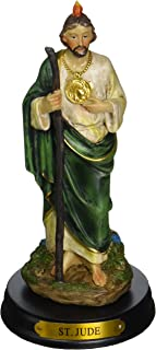 George S. Chen Imports 5-Inch Saint Jude Holy Figurine Religious Decoration Statue (SS-G-205.08)