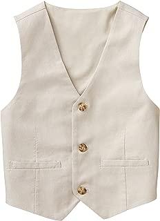 Gymboree Baby Boys 3-Button Linen Vest