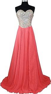Women's Strapless Rhinestone Bodice A Line Prom Formal Dress