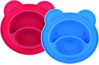 Nuby Nuby Miracle Suction Plate - Bear,3pc, Pack of 1