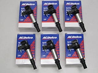 Set of SIX AC Delco Ignition Coils D501C/BSC1508,