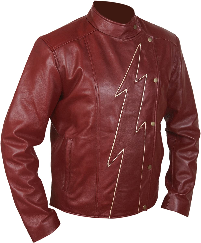F&H Men's Superhero Season 2 Jay Garrick Teddy Sears Jacket
