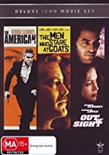 The American (2010) / The Men Who Stare at Goats / Out of Sight (1998) (Deluxe Icon Movie Set)