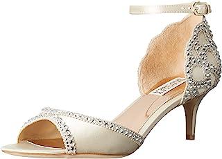 ee80e8323ef Amazon.com: Ivory - Heeled Sandals / Sandals: Clothing, Shoes & Jewelry