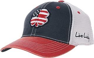 Black Clover Crimson/White Alabama 2-Tone Vintage Snapback Hat