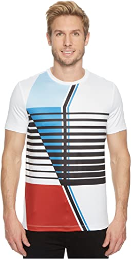 Perry Ellis - PE360 Active Graphic Crew Tee