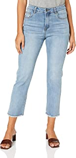 FATE + BECKER Women's Bob Straight Leg Jeans