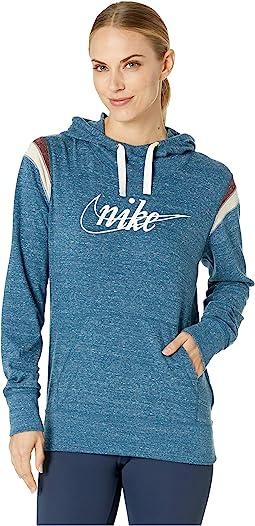 Gym Vintage Hoodie Pullover HBR