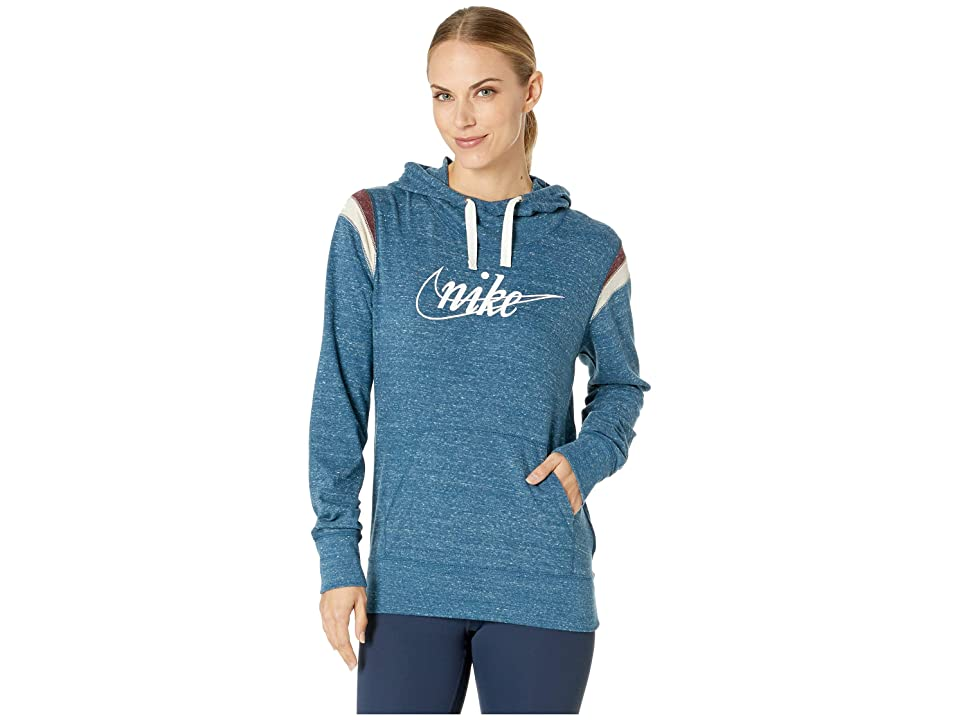 Nike Gym Vintage Hoodie Pullover HBR (Blue Force/Sail) Women