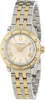 Raymond Weil Women's 5399-SPS-00657 Tango Two-Tone Diamond Bezel Dress Watch