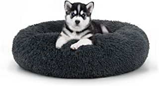 The Dog�s Bed Sound Sleep Original Calming Donut Dog Bed & Cat Bed, Small to XL, Premium Quality Anti-Anxiety Plush Nest Bed Snuggler