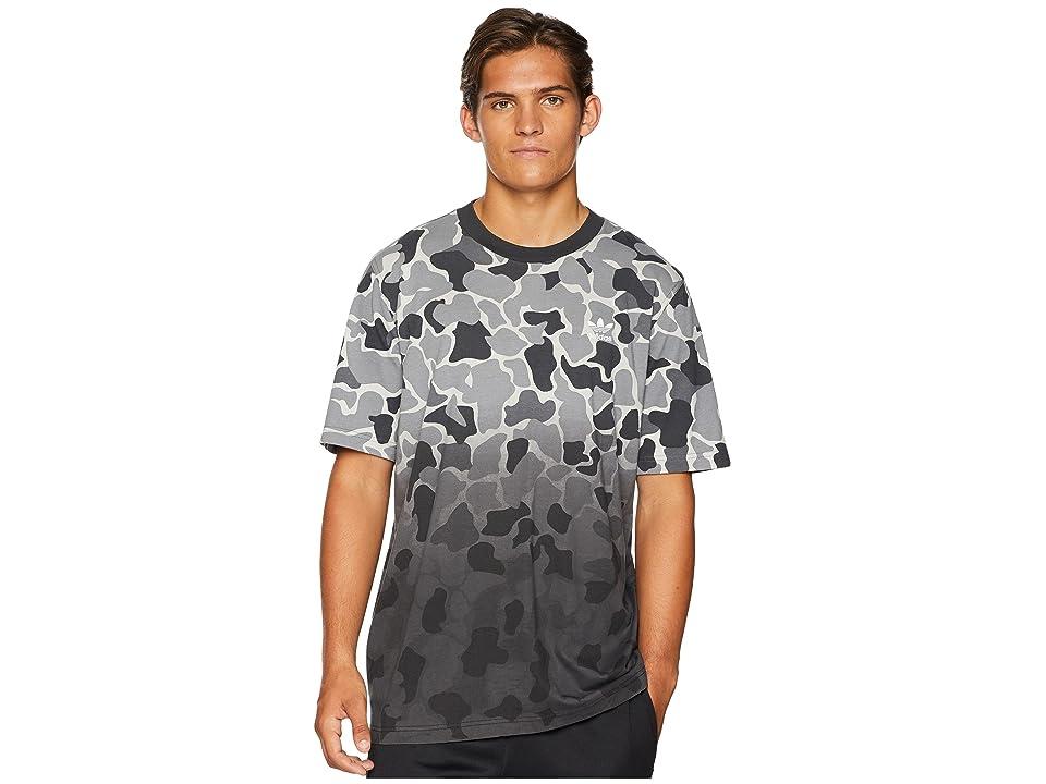 3781b6cd adidas Originals Camo Dipped Tee (Multicolor) Men's T Shirt