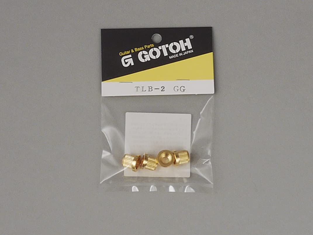 噛む日の出マイルドG.GOTOH(ゴトー) ストリングブッシュ/裏通し弦止め ベース用タイプ ゴールド TLB-2 GG